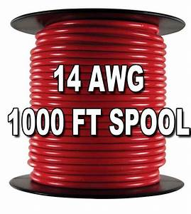 Automotive Primary Wire  14 Awg  1 000 Ft  Spool