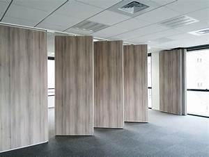 Cloisons Mobiles : installation et pose de cloison mobile coulissante mur ~ Melissatoandfro.com Idées de Décoration