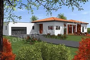Hall Entrée Maison Moderne : plan de maison moderne garonna ~ Melissatoandfro.com Idées de Décoration