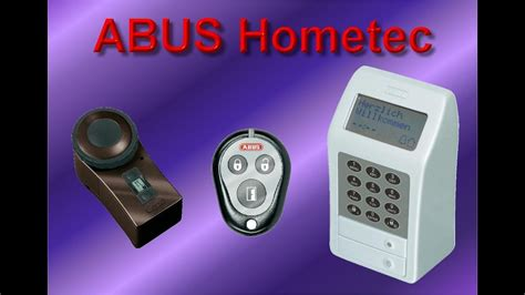 abus hometec schlie 223 system mit fb code schloss