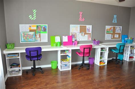 homeschool desk ideas right where we are home school classroom successful