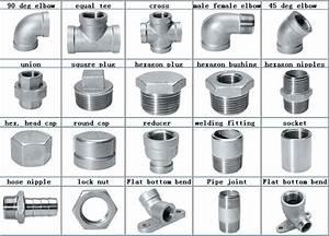 Stainless Steel Pipe Fittings Bsp Threaded 1  2 Inch Lock