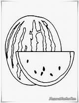 Gambar Mewarnai Buku Buah Semangka Coloring Gravy Bing Pages Gratis Simple Template Gumball sketch template