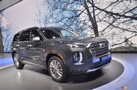 2020 Hyundai Palisade Dimensions by Toronto 2019 Canadian Debut Of The 2020 Hyundai Palisade