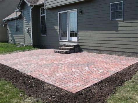 pavers pictures patios simple brick paver patio designs modern patio outdoor