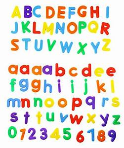 edukid toys 72 magnetic letters numbers tote 125quot 1 With 1 magnetic letters