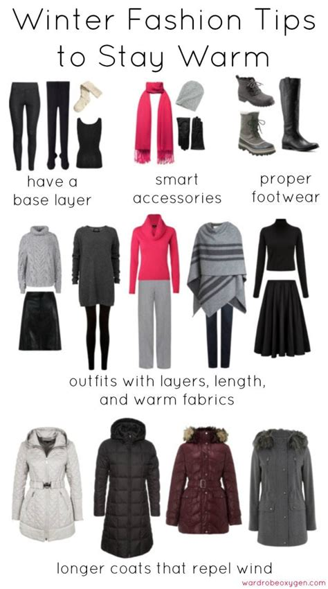 Winter Style Tips Warm Fashion for Cold Weather