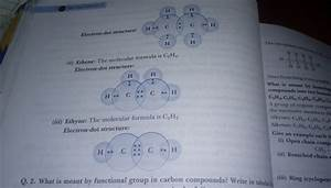 Draw The Electron Dot Structure Of
