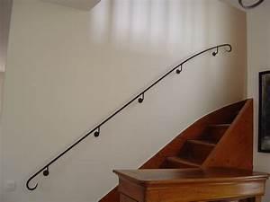 Main Courante Escalier Intérieur : ferronnerie meunier ferronnerie d 39 art sp cialis e dans la rampe d 39 escalier ~ Preciouscoupons.com Idées de Décoration