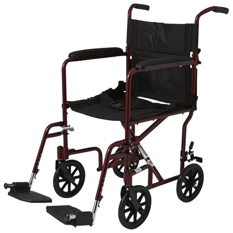 Invacare Transport Chair Manual by Invacare Probasics 19 Inches Lightweight Aluminum