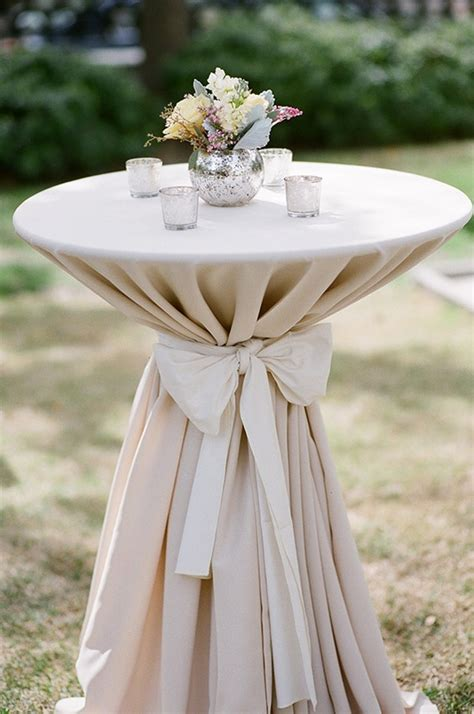 high top cocktail table cloths for cocktail tables white linen with black bow and small