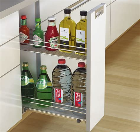 hettich kitchen accessories bottle pull out base unit kitchen accessories 1610