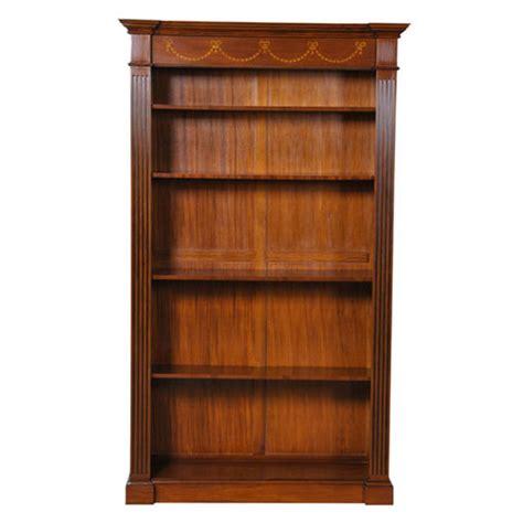 Bookcase Furniture by Inlaid Mahogany Bookcase Niagara Furniture Large Bookcase