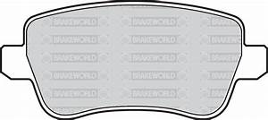 Oem Spec Rear Discs And Pads 278mm For Fiat Croma 2 2 147