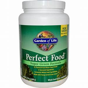 Iherbcom customer reviews garden of life perfect food for Garden of life super green