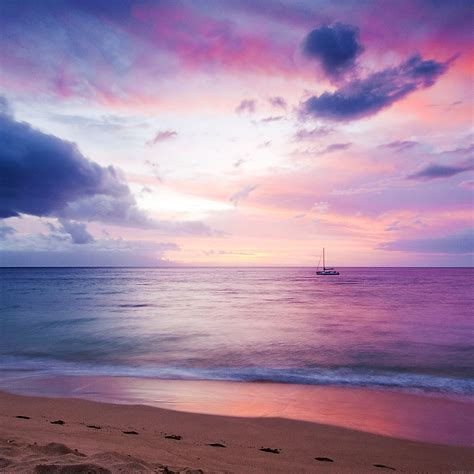 freeios mc wallpaper dreamy sea boat blue parallax