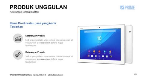 contoh company profile  powerpoint contoh agus