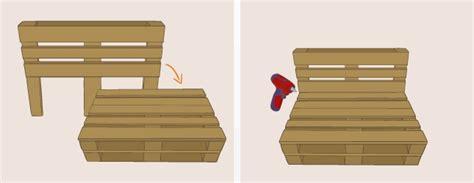 construire un canape avec des palettes fabriquer un canapé en palette canapé