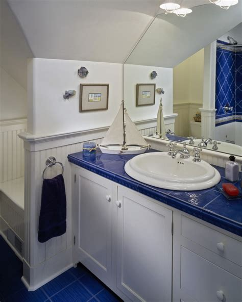 17+ Nautical Bathroom Designs, Ideas  Design Trends