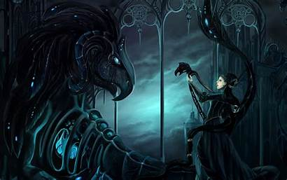 Gothic Wallpapers Cool Dark Fantasy Mech Abstract
