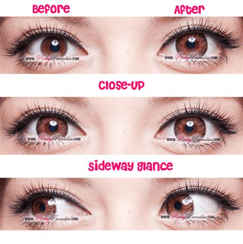 hazel color contacts g g tricolor hazel circle lenses colored contacts