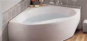 Grande Baignoire D Angle : baignoire d 39 angle 135x135 120x120 140x140 ~ Edinachiropracticcenter.com Idées de Décoration
