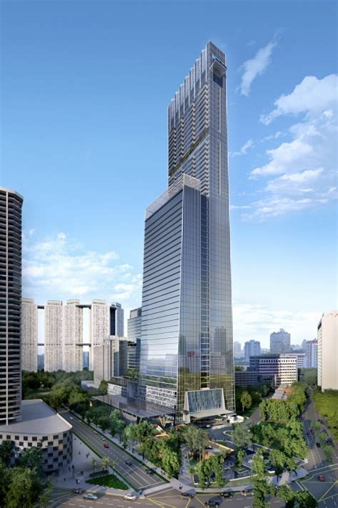 Som Designs Singapore Tallest Tower Archdaily
