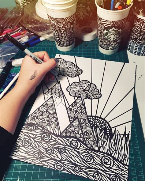 Easy Sharpie Drawing Ideas