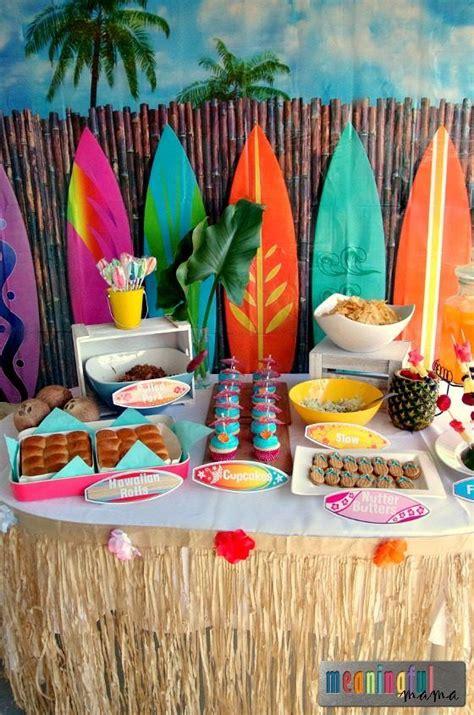 luau birthday party ideas   meaningful mama luau