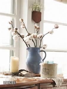 Cotton Branches ~ DIY Farmhouse Decor - Prodigal Pieces