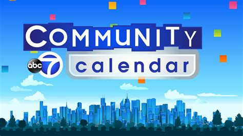 abc community calendar local nyc abcnycom