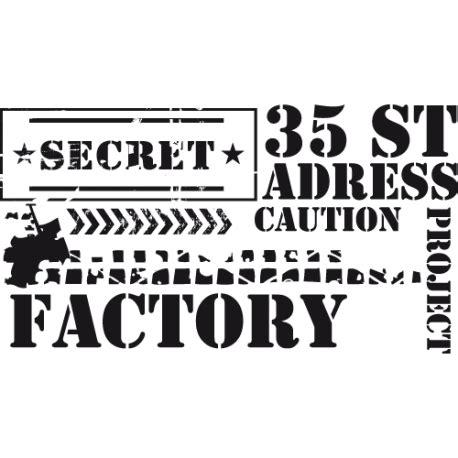 pochoir pour mur de chambre stickers factory les stickers industrie par décorécébo