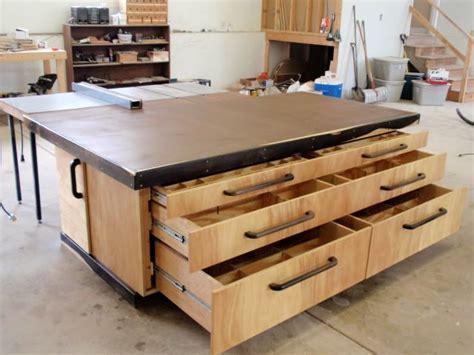 outfeedassembly table  thepps  lumberjockscom
