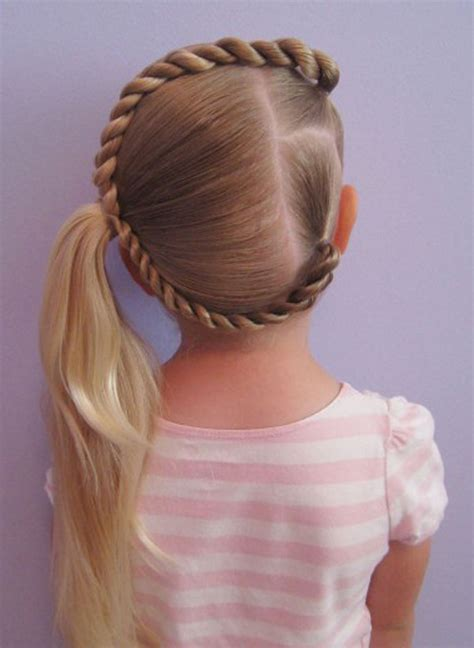 Easy Kid Hairstyles by Cool Unique Braid Designs Simple Best
