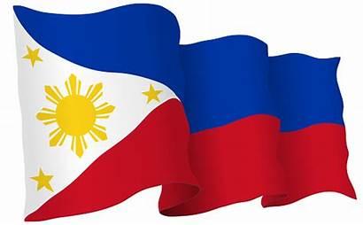 Flag Waving Philippines Vector Illustration Philippine Africa
