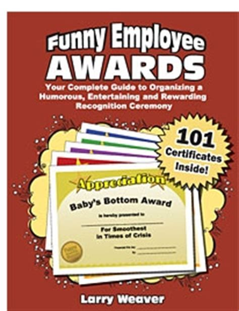 christmas party award ideas awards ideas for a humorous and inexpensive office