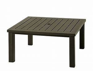 Northern virginia hanamint sherwood 44quot square coffee for 44 inch square coffee table