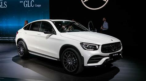 mercedes benz glc coupe  refreshed face