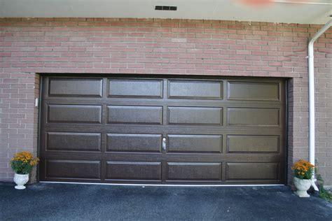 raynor showcase ranch panel brown dutchess overhead doors