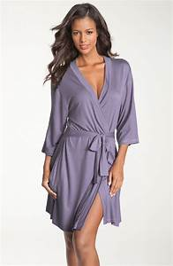 shimera ready to go knit robe in purple purple twilight With robe gogo