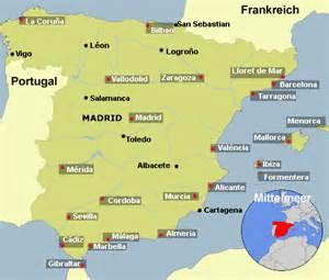 spanien fläche klima klimadiagramm spanien