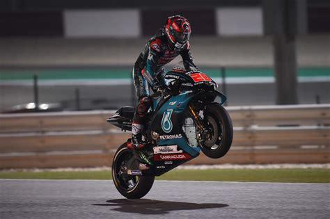 quartararo cinquieme pour son premier depart en motogp