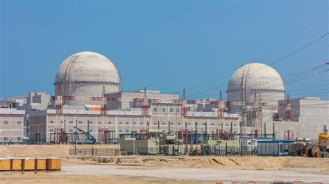 UAE's first nuclear power station 81% complete - Khaleej Times