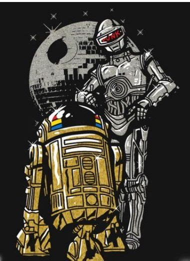 Daft Droids | Star wars concept art, Star wars art, Star ...