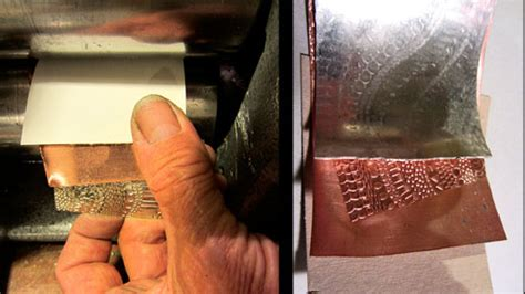 mixed metal jewels roller printing