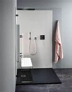 Bank Für Dusche : shk journal repabad palma infrarotpaneel zum nachr sten f r die dusche ~ Michelbontemps.com Haus und Dekorationen