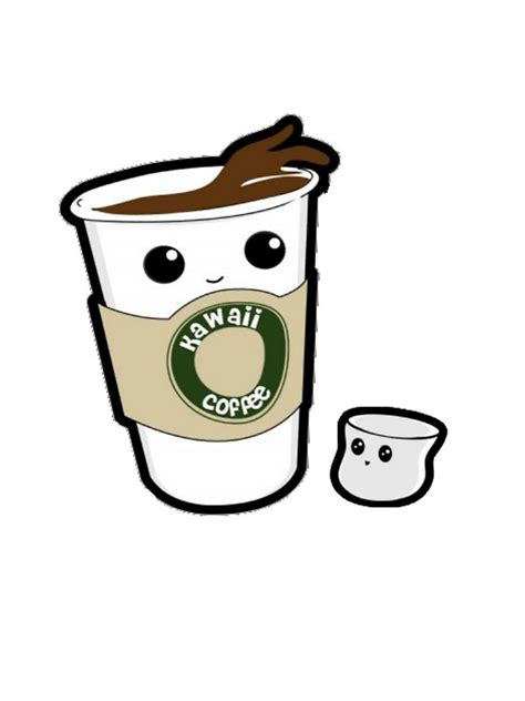 quot kawaii coffee quot stickers by jodiecameron redbubble