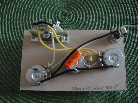 Made For Fender Stratocaster Left Hand Wiring Harness Reverb
