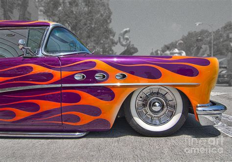 Wild Flames Side View Photograph by Hot Rod Pics