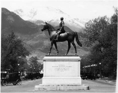 general william jackson palmer statue colorado springs